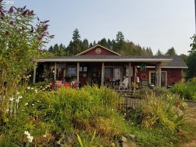 Sutherlin Single Family Home For Sale: 1833 Plat I Rd