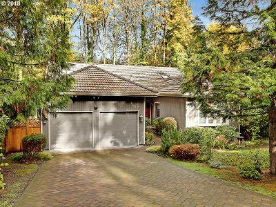 Portland Single Family Home For Sale: 604 SW Arboretum Cir