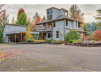 McMinnville Single Family Home For Sale: 14180 NW Berry Creek Rd