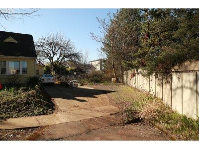Portland Residential Lots & Land For Sale: NE Clackamas St