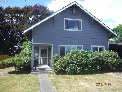 Woodburn Single Family Home For Sale: 1450 E Cleveland St