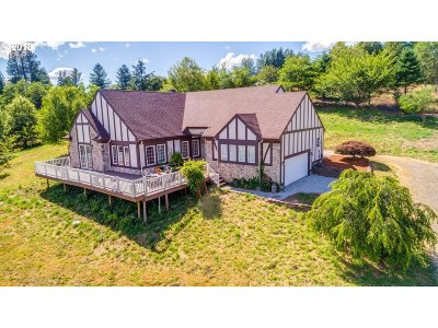 Washougal Single Family Home For Sale: 1414 SE Washougal River Rd