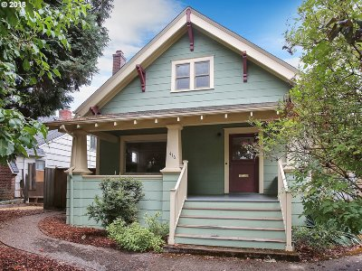 Portland Single Family Home For Sale: 416 SE 55th Ave
