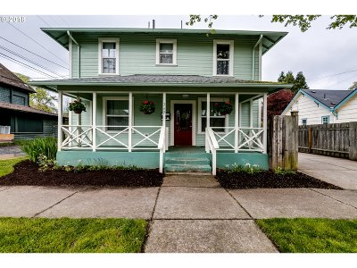 Eugene Single Family Home For Sale: 342 Monroe St