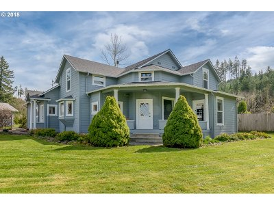 Cottage Grove, Creswell Single Family Home For Sale: 28202 Cottage Grove Lorane Rd