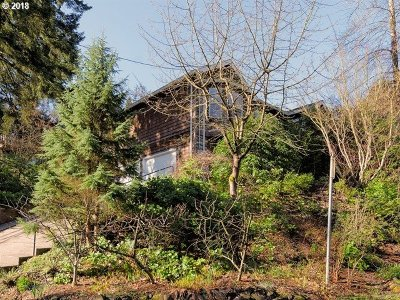 Portland Single Family Home For Sale: 3126 SW Upper Dr
