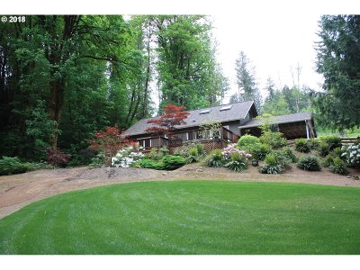 North Plains Single Family Home For Sale: 30551 NW Fern Flat Rd