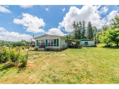 Lebanon Single Family Home For Sale: 30610 Santiam Hwy
