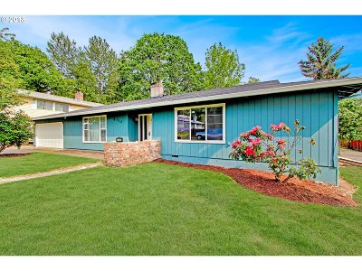 Portland Single Family Home For Sale: 6310 SE Hull Ave