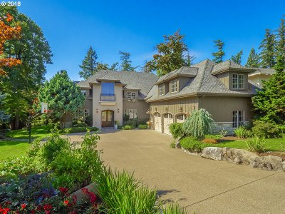 Lake Oswego Single Family Home For Sale: 1688 Leslie Ln