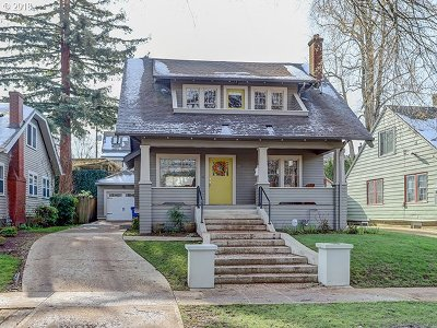 Single Family Home For Sale: 3716 NE Hassalo St