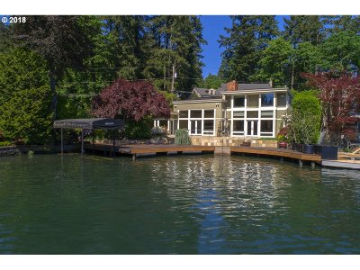 Lake Oswego Single Family Home For Sale: 1160 Northshore Rd