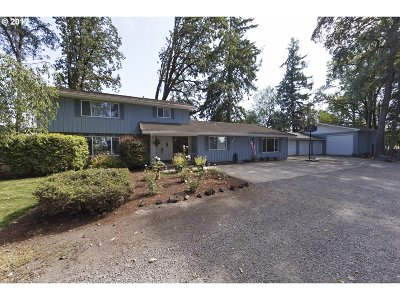 Canby Single Family Home For Sale: 9850 S Barnards Rd