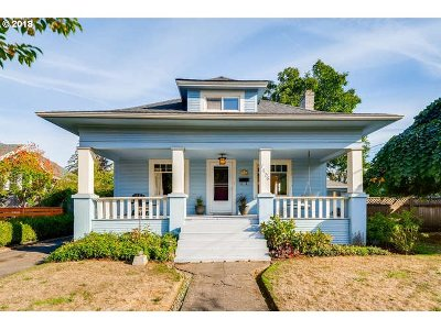 Portland Single Family Home Bumpable Buyer: 7436 N Fiske Ave