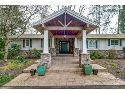 Newberg Single Family Home For Sale: 37280 NE Wilsonville Rd