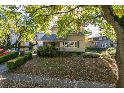 Single Family Home For Sale: 3312 NE Flanders St