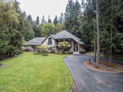 Wilsonville, Canby, Aurora Single Family Home For Sale: 15630 NE Becke Rd