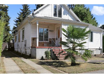 Portland Single Family Home For Sale: 9223 N Seneca St