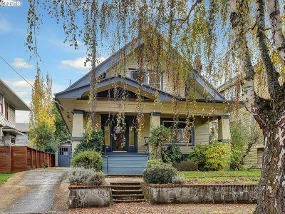 Portland Single Family Home For Sale: 2134 NE 45th Ave