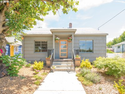 Portland Single Family Home For Sale: 4724 N Missouri Ave