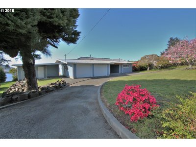 Coos Bay Single Family Home For Sale: 91165 Cape Arago Hy