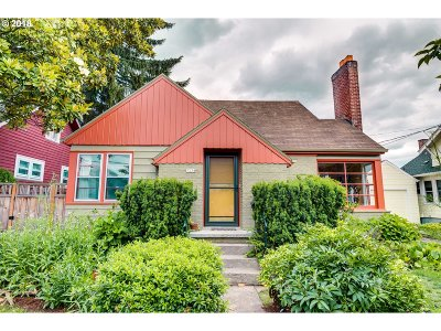 Portland OR Single Family Home For Sale: $515,000