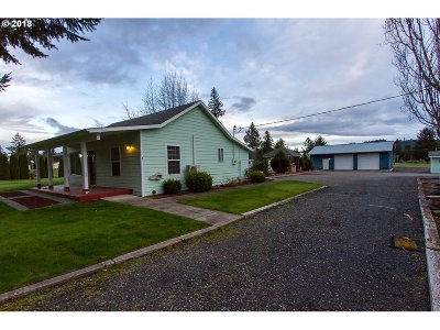 Stayton Single Family Home Sold: 18824 Old Mehama Rd SE