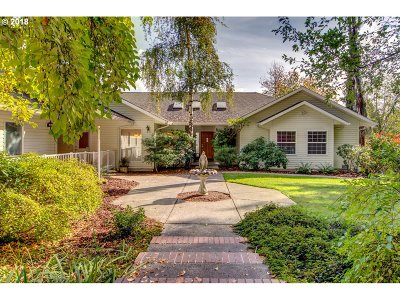 Camas Single Family Home For Sale: 5219 NE Lessard Rd
