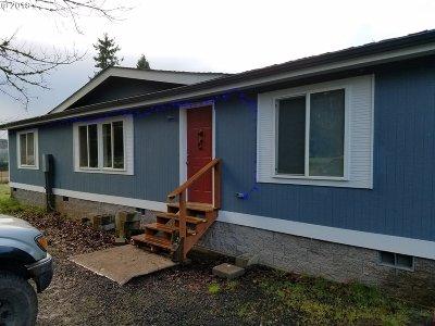Lorane Single Family Home For Sale: 27598 Lorane Orchard Rd