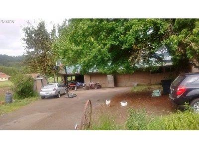 Willamina Single Family Home For Sale: 37570 SW Coast Creek Rd
