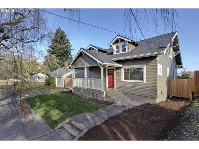 Portland Single Family Home For Sale: 8972 N Portsmouth Ave