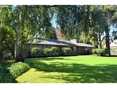Eugene Single Family Home For Sale: 3514 River Rd