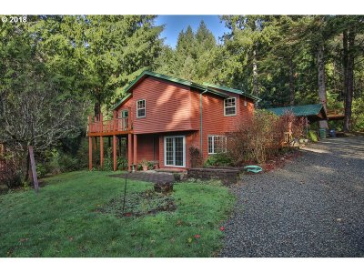 Coos Bay Single Family Home For Sale: 61500 Wriston Springs Rd