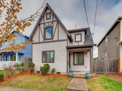 Single Family Home For Sale: 5811 N Bowdoin St