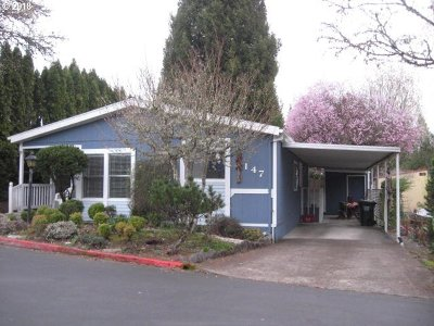 Beaverton, Aloha Single Family Home For Sale: 100 SW 195th Ave #147