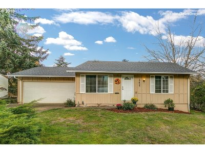Beaverton, Aloha Single Family Home For Sale: 19627 SW Wright St