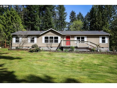Springfield Single Family Home For Sale: 37057 Parsons Creek Rd