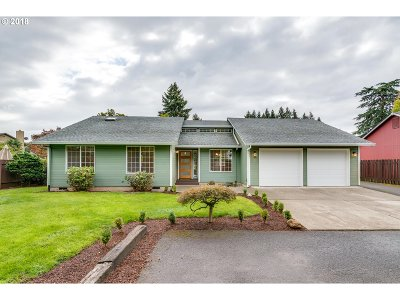 Canby Single Family Home For Sale: 592 S Ivy St