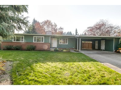 Eugene Single Family Home For Sale: 510 Warrington Ave