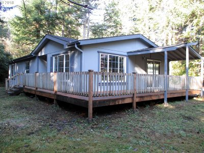 Bandon Single Family Home For Sale: 56129 Tom Smith Rd