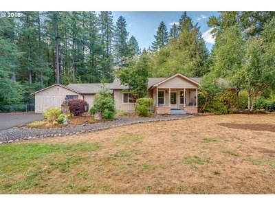 Oregon City, Beavercreek, Molalla, Mulino Single Family Home For Sale: 18513 S Highway 211