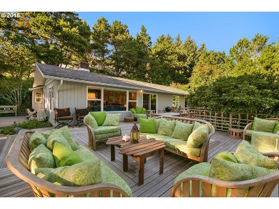 Cannon Beach Single Family Home For Sale: 2175 S Hemlock St