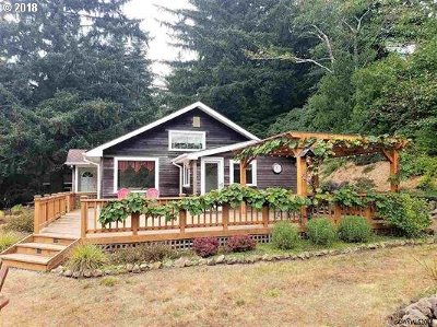 Lincoln City Single Family Home For Sale: 8451 NE Highland Rd
