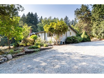 Wilsonville Single Family Home For Sale: 25805 SW Newland Rd