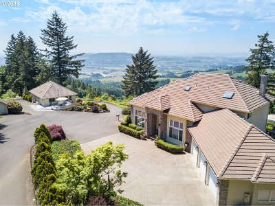 Newberg Single Family Home For Sale: 22000 NE Mountain Top Rd