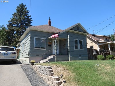 Pendleton Single Family Home For Sale: 411 NW 9th St