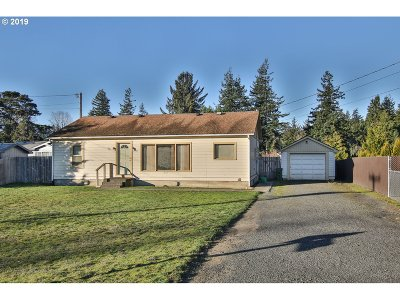 Coos Bay Single Family Home For Sale: 2155 26th