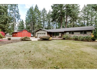 Junction City Single Family Home For Sale: 90649 Georgetown Rd