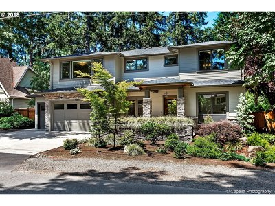 Lake Oswego Single Family Home For Sale: 4287 Haven St