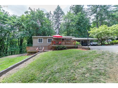 Multnomah County Single Family Home For Sale: 18700 NW Logie Trail Rd